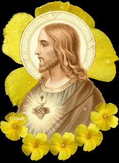 GIFS: 40 Imágenes Animadas de Jesús - 1000 Gifs Baby Jesus, God Jesus, Jesus Christ, Jesus Gifts, Heart Gif, Gifs, Mother Mary, Gods And Goddesses, Catholic