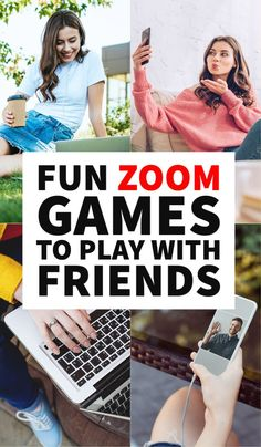 Games to play with friends on Zoom, games for all the family, video call games, homeschooling, family games, working from home, Zoom app, virtual games to play on video call, fun games to play over Zoom or Facetime, indoor games, conference call, indoor group games, online games, group calls, houseparty, Jackbox, google hangout, no supplies indoor games, conference call bingo, conference call games, family group calls, stay in contact with family #Facetime #Games Fun Activites For Teens, Young Women Activities, Fun Fall Activities, Games For Toddlers, Games For Teens, Online Games For Couples, Babysitting Activities, Indoor Group Games, Fun Group Games