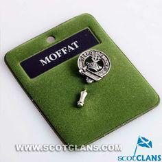 Clan Moffat Pewter Clan Crest Tie Pin