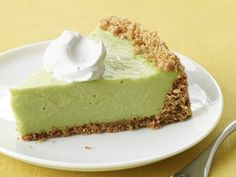 Avocado Pie | Is this just like a pie full of creamy guacamole? Because that sounds great.