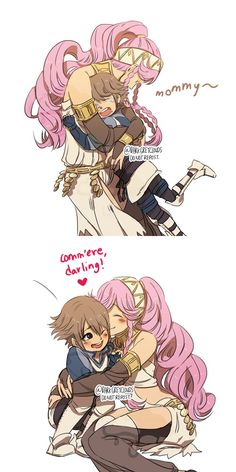 Fire Emblem Awakening - Olivia and Inigo