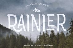 Rainier Font 75% OFF! + webfonts by Kimmy Design on @creativemarket