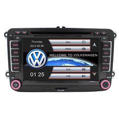 "7"" Capacitive touch screen Car DVD GPS built-in Can Bus Original VW UI for VW Volkswagen POLO PASSAT B6 Golf 5 6 Skoda Octavia"