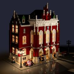 UJ6   looooookl Lego Modular, Modular Homes, Most Beautiful Pictures, Cool Pictures, Lego Winter, Cool Lego Creations, Granny Flat, Lego Architecture, Lego House