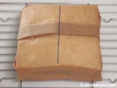 サンドイッチの包み方