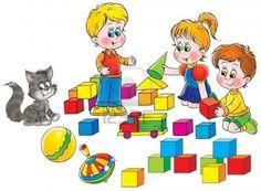 dibujos de niños jugando en el jardin - Buscar con Google Clipart Baby, Daily Schedule Preschool, School Clipart, Baby Clip Art, Preschool Education, Fluffy Cat, Drawing For Kids, Colouring Pages, Free Pictures
