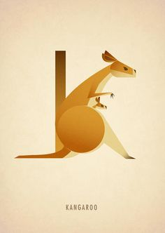 M Is For Meerkat: A Beautiful Alphabet Inspired By Animals |  by London-based illustrator Marcus Reed