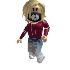 Roblox Girl With Robux Avatar Roblox Roblox Animation Roblox Pictures Roblox Funny