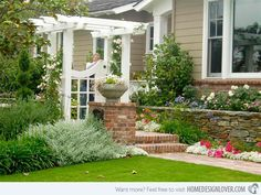 15 Ideas for Landscaping with Bricks | Home Design Lover