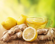 NATUREAT : Lemon and ginger to detox and lose weight