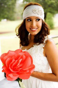 Giant Paper Flower, Giant Rose, Large Coral Paper Flower, Summer Wedding, Paper Roses, Bridal Bouquet, Alternative Bouquet, Bridal Bouquet