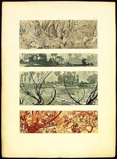 Alphonse Mucha - part 7 - Insta Reyog Art Deco Artwork, Cool Artwork, Art Illustration Vintage, Alphonse Mucha Art, Art Nouveau Poster, Soul Art, Plate Art, Artist Art, Les Oeuvres