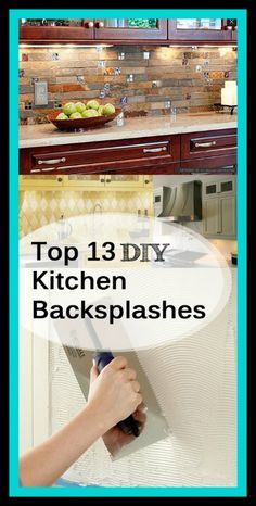 Installing a backsplash  is an easy way to spruce up your kitchen without the hassle and cost of a complete remodel. And, of course, the best part is you can DO IT YOURSELF! #BrookfieldDIY
