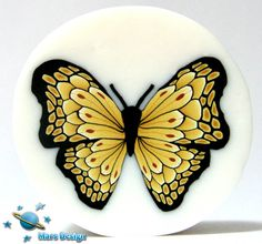 Cream butterfly cane | Flickr - Photo Sharing!