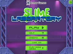 Slime Lab - Play with a glob of slime! Awesome Games, Fun Games, Games To Play, Slime Lab, Armor Games