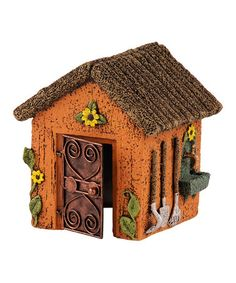 Another great find on #zulily! Orange Fairy House #zulilyfinds