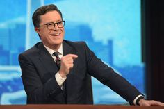 For Stephen Colbert a Very Uncomfortable Election Night