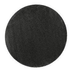 ÅDUM Rug, high pile, dark grey - dark grey - 195 cm - IKEA