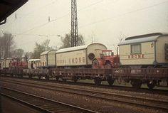 modelbouw circus krone trein