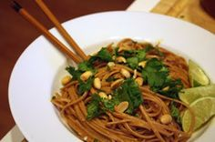 Meatless Monday: Noodles with Thai Peanut-Chili Sauce