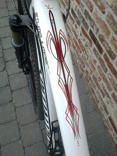 Pinstriped Mountainbike