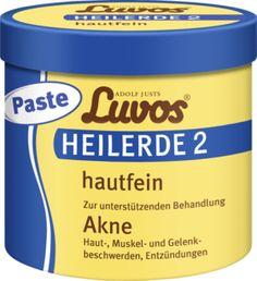 Luvos Heilerde Hautfein Paste wirkt natürlich effektiv bei Akne, Haut-, Muskel- und Gelenkbeschwerden sowie bei Entzündungen mit spürbarer Tiefenwirkung....
