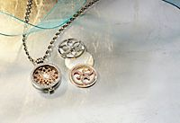 "Kette ""Coins"", Set Washer Necklace, Shops, Jewelry, Chain, Tents, Bijoux, Jewlery, Jewels, Jewelery"