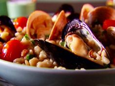 Fregola with Clams and Mussels