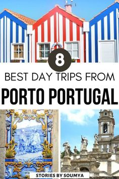 Planning to travel to Porto? Looking for cool things to do in Porto Portugal? Check out these 8 amazing day trips from Porto that are quick and easy. Convenient day trip destinations from Porto that won't burn a hole in your pocket. #Porto #Portugal #Europe