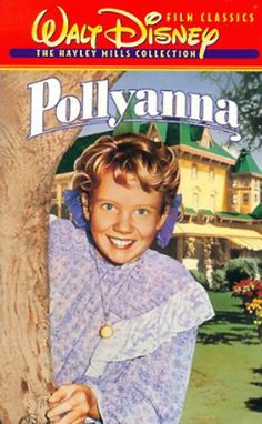 Pollyanna (1960) is a Walt Disney Productions feature film starring child actress Hayley Mills, Jane Wyman, Karl Malden and Richard Egan in a story about a cheerful orphan changing the outlook of a small town.