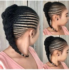 Box braids in braided bun Tied to the front of the head, the braids form a voluminous chignon perfect for an evening look. Box braids in side hair Placed on the shoulder… Continue Reading → Hair Lights, Light Hair, Hair Twist Styles, Braid Styles, Curly Hair Styles, Natural Hair Styles, Braids Hairstyles Pictures, African Braids Hairstyles, Twist Hairstyles