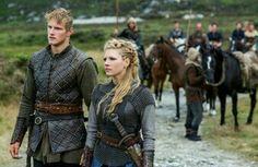 lagertha & son bjorn #vikings #historychannel