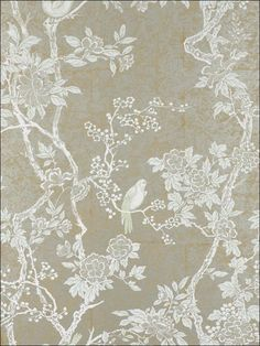 Marlowe Floral - Ebony - Floral Wallpaper - asian - wallpaper - Ralph Lauren Home. Just arrived in store this morning can't wait to use it in our next project! Asian Wallpaper, Home Wallpaper, Wallpaper Roll, Fabric Wallpaper, Luxury Wallpaper, Custom Wallpaper, Amazing Wallpaper, Wallpaper Ideas, Unique Wallpaper