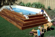 Product Categories Pyramid Pool Deck | Above Ground Pools Experts