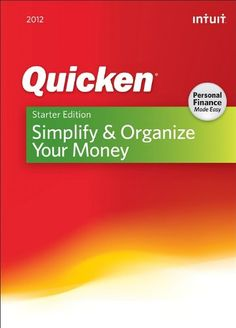 http://pfpins.com/quicken-starter-edition-2012-download/ Quicken Starter Edition Personal Finance Software helps you simplify and organize your money so you can see where you're spending