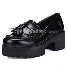 Chaussures Femme - Décontracté - Noir - Plateforme - Talons   A Plateau    Confort   d86bfbb305c9