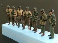 Pin by Al on New diorama Anime Military, Military Art, George Custer, American Uniform, Army Men Toys, Ww2 Uniforms, Military Action Figures, Model Tanks, Military Insignia