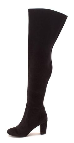 8e08deb739d LFL by Lust for Life Women s Lex Fashion Boot Black Velvet 10 Medium US   fashion