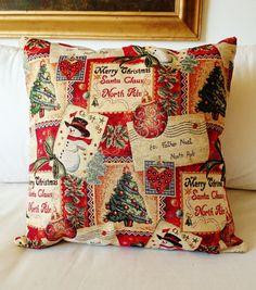 Christmas throw Christmas pillow cover Chrismas by SUNSUELLE