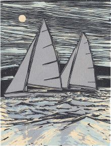 boat linocut - Google Search Outdoor Gear, Tent, Google Search, Boats, Prints, Printmaking, Store, Boating, Printed