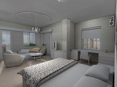 Мария Панова. Дизайн-проект спальни родителей
