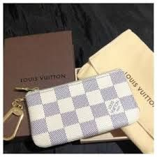 lv card keychain white - Google Search