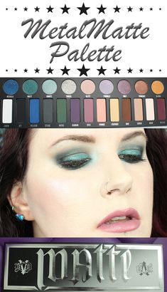 Kat Von D MetalMatte LE Holiday Palette Video Review. This is a must have palette. It's the best for hooded eye gals!