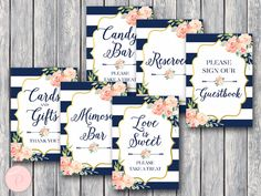 Boho-Navy-Gold-Bridal-Shower-Table-Signs-Package-Nvy-1 (1)