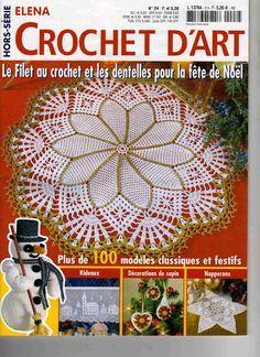 elenabau(www.mandeibem.com.br) - RAIHUEN - Picasa Web Albums #crochet #crochetmagazine