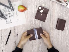 Small wallets Chocolate - LOST & FOUND accessoires