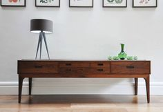 50s retro console table - photo #27