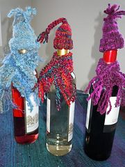 Ravelry: Wine Bottle Hat and Scarf pattern by Diana McKay