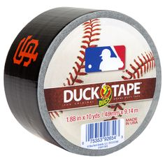 MLB™ Licensed Duck Tape® - San Francisco Giants
