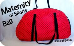 House of Estrela: Maternity Bag Tutorial & free pattern |Sew-a-bration of Womanhood||